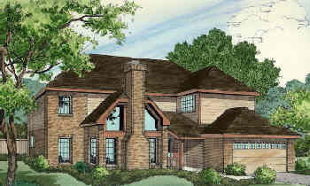 Sales Rendering for Wood Brothers Homes